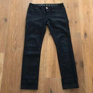 Earnest Sewn dark wash skinny jeans